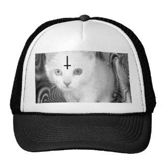 satan kitty trucker hats