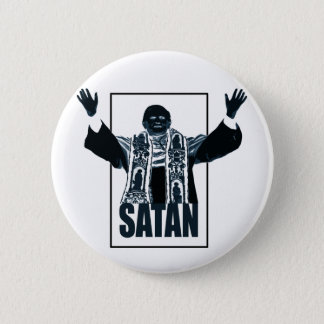 SATAN Pope 6 Cm Round Badge