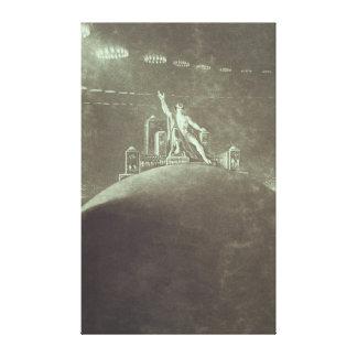 Satan presiding at the Infernal Council, 1824 Gallery Wrap Canvas