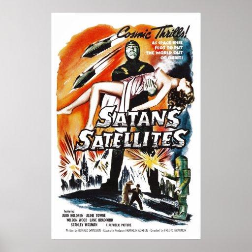 Satan's Satellites Posters