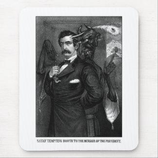 Satan Tempting John Wilkes Booth Mousepad