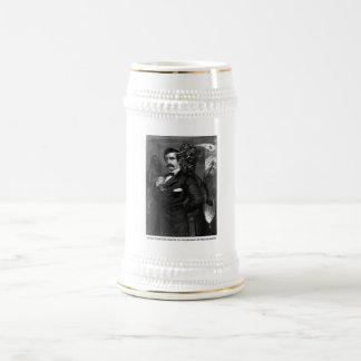 Satan Tempting John Wilkes Booth Coffee Mugs