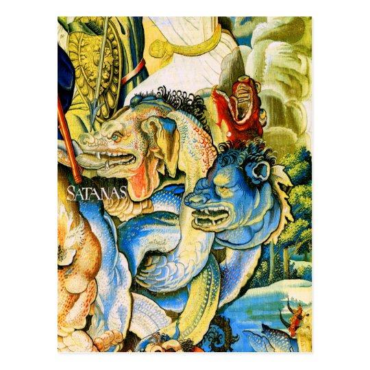Satanas (Satan), Fine Willem de Pannemaker Postcard