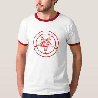Satanic Baphomet Pentagram T-Shirt
