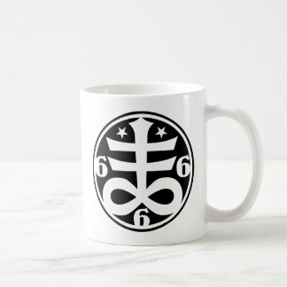 Satanic Cross Occult Black Magick & Satanism Mug