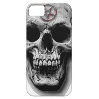 Satanic Evil Skull Design Barely There iPhone 5 Case