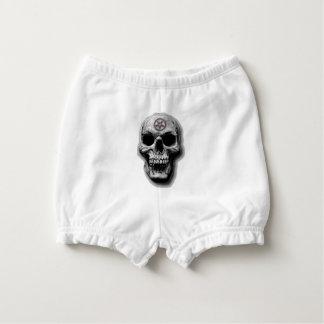 Satanic Evil Skull Design Nappy Cover