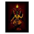 Satanic Goat Wall Art 18x24