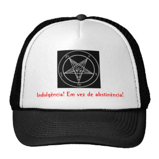 satanic pentagrama, Indulgence! Instead of abs… Cap