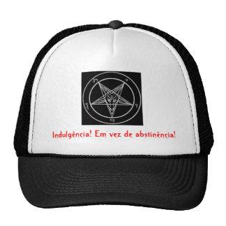 satanic pentagrama, Indulgence! Instead of abs… Cap