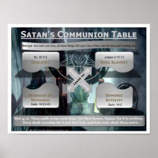 Satan's Communion Table Print