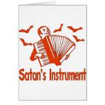Satan's Instrument Card