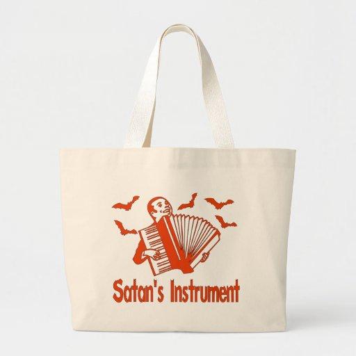 Satan's Instrument Jumbo Tote Bag