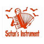 Satan's Instrument Postcard