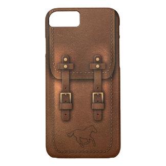 satchel Pony Express leather aspect iPhone 7 Case