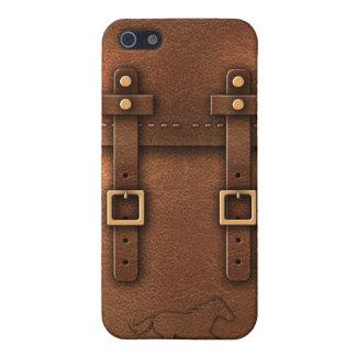 satchel Pony Express leather iPhone 5/5S Case