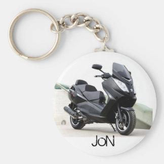 Satelis Jon Basic Round Button Key Ring