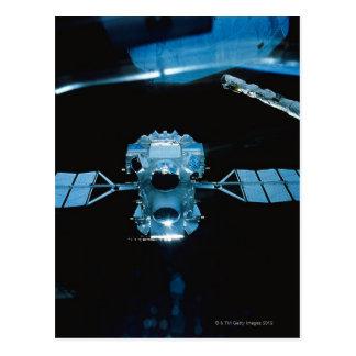 Satellite 2 postcard
