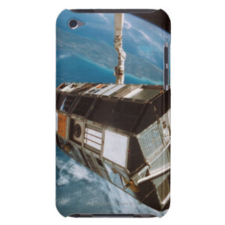 Satellite above Earth iPod Touch Cases