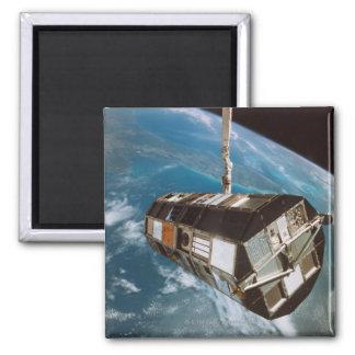 Satellite above Earth Magnet