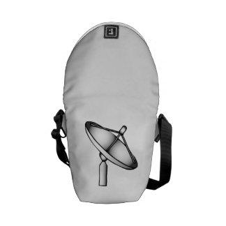 Satellite Dish Messenger Bags