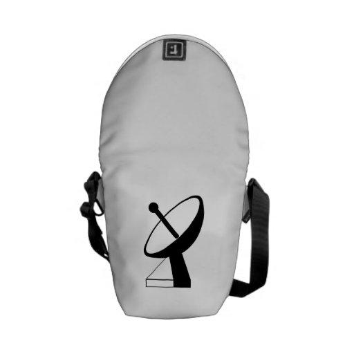 Satellite Dish Messenger Bag