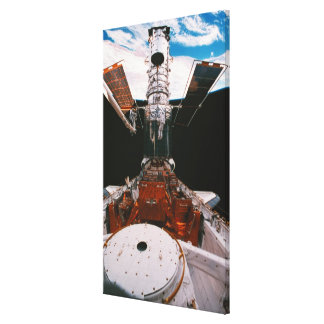 Satellite Docked Canvas Print
