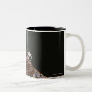 Satellite Docked Coffee Mugs