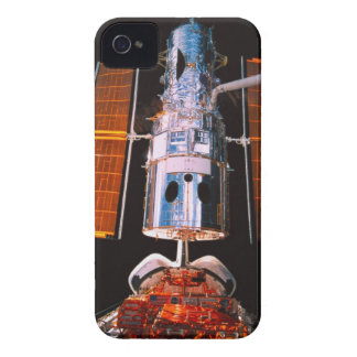 Satellite Docked on Space Shuttle iPhone 4 Case-Mate Cases