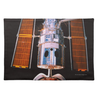 Satellite Docked on Space Shuttle Placemat