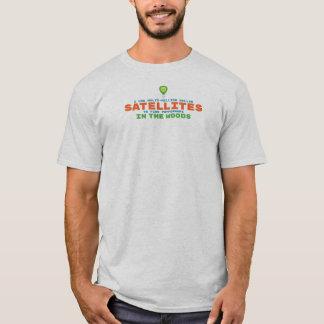Satellite Humour Geocaching T-Shirt