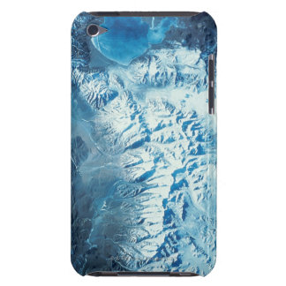 Satellite Image of a Mountain Range iPod Touch Covers