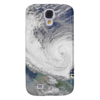 Satellite image of a typhoon galaxy s4 case