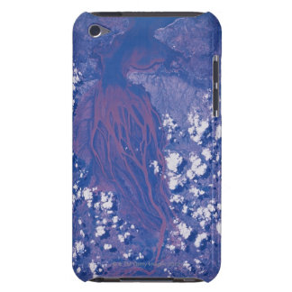 Satellite Image of Earth 2 iPod Case-Mate Cases