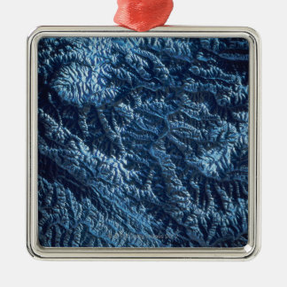 Satellite Image of Earth Christmas Ornament