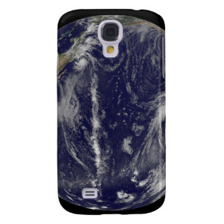 Satellite image of Earth Galaxy S4 Case