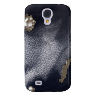 Satellite image of Semisopochnoi Island Galaxy S4 Case