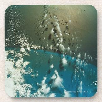 Satellite Image of The Florida Strait Drink Coasters