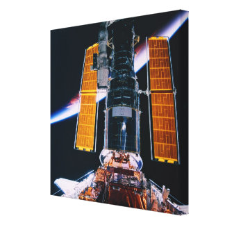 Satellite Launching from Space Shuttle Canvas Prints