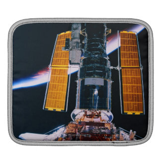Satellite Launching from Space Shuttle iPad Sleeve