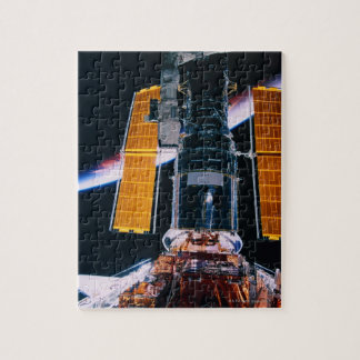 Satellite Launching from Space Shuttle Jigsaw Puzzle