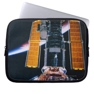 Satellite Launching from Space Shuttle Laptop Sleeve