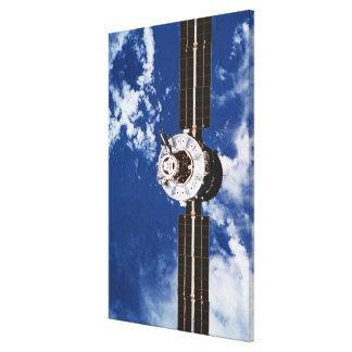 Satellite Orbiting Earth 2 Canvas Print