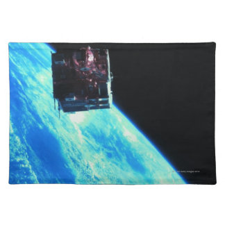 Satellite Orbiting Earth 3 Placemat