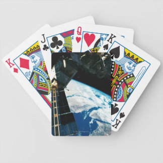 Satellite Orbiting Earth 5 Bicycle Playing Cards