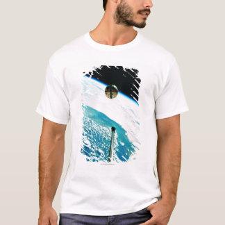 Satellite Orbiting Earth 7 T-Shirt