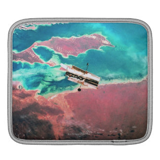 Satellite Orbiting Earth 8 iPad Sleeve