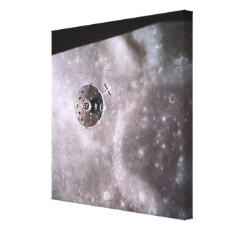 Satellite Orbiting in Space 2 Stretched Canvas Prints