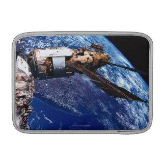 Satellite Orbiting in Space 2 Sleeve For MacBook Air