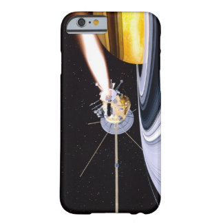 Satellite orbiting Saturn Barely There iPhone 6 Case